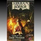 ARKHAM HORROR  - Curse of the Dark Pharao - Expansion, english edition - 2. Wahl - (in Folie, Schachtel beschädigt)