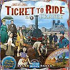 TICKET TO RIDE Frankreich (Zug um Zug) - Erweiterung inkl. Der Wilde Westen (Map Collection 6)