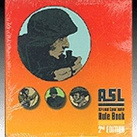 ASL Advanced Squad Leader Rule Book - 2nd edition, english edition