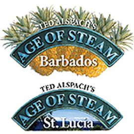 AGE OF STEAM - Expansion WEST INDIES (Jamaica / Puerto Rico + Barbados / St. Lucia)