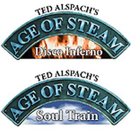 AGE OF STEAM - Expansion DISCO INFERNO / SOUL TRAIN + SUN / LONDON
