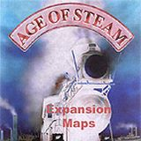 AGE OF STEAM - Expansion MISSISSIPPI STEAMBOATS / GOLDEN...